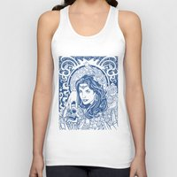 gypsy Tank Tops featuring Gypsy by albertsurpower