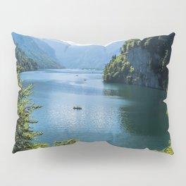 Germany, Malerblick,Koenigssee Lake III- Mountain Forest Europe Pillow Sham