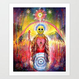 The Gifts Are In The Signs! Art Print
