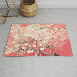Van Gogh Almond Blossoms : Peach Rug