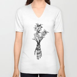 In Bloom #01 Unisex V-Neck