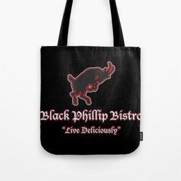 Black Phillip Bistro Tote Bag