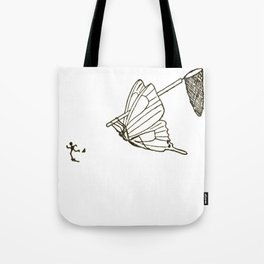 Butterfly Metamorphosis Tote Bag