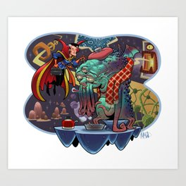 Doctor Stange Art Print