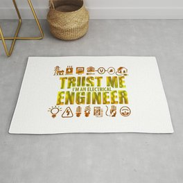 Trust me, I'm an electrical engineer Rug