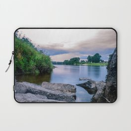 Long Exposure Photo of The River Tay in Perth Scotland Laptop Sleeve