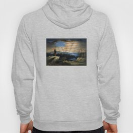 Our Heaven Born Banner Hoody