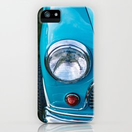 Vintage car iPhone Case