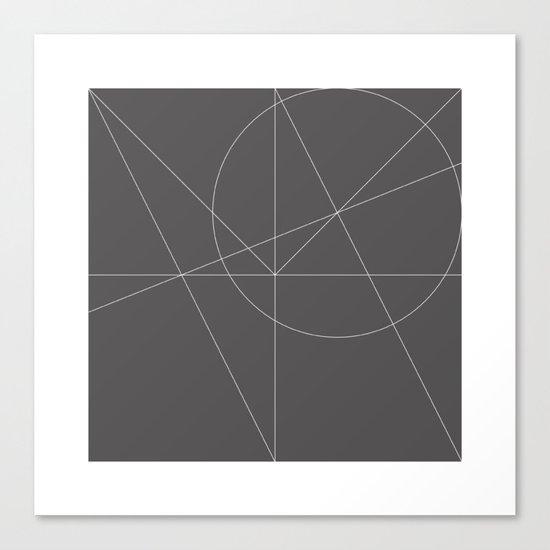#150 Quadrature – Geometry Daily Canvas Print