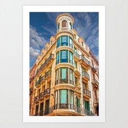 Barcelona Corner Art Print