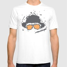 Fear and Loathing in Las Vegas SMALL Mens Fitted Tee White