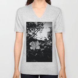 The fading afternoon flower Unisex V-Neck