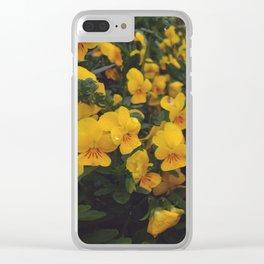 Viola Clear iPhone Case