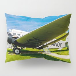 Lufthansa YU 52 Airport Munich Pillow Sham