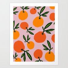 Clémentine Art Print