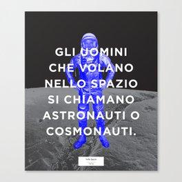 BOLO 1 cosmonauta Canvas Print