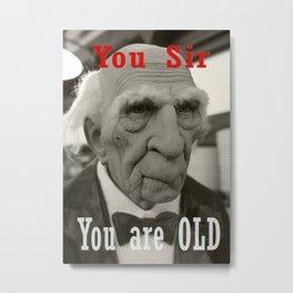 Old Man of Helsinki Metal Print