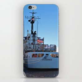 The Diligence At Homeport iPhone Skin
