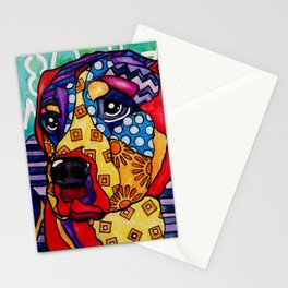 Norman Labrador Retriever Hound Swiss Mountain Bernese Mastiff Weimaraner Bull Boxer Dog Pet Design Stationery Cards