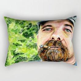Paul Miller Painting (2015) REVAMP Rectangular Pillow