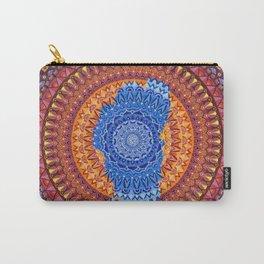 Lake Tahoe Mandala - OG Colors Carry-All Pouch