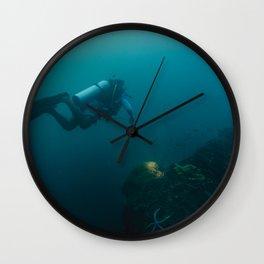 DUSK DIVER Wall Clock