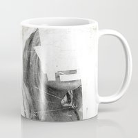 number Mugs featuring Faceless | number 03 by FAMOUS WHEN DEAD