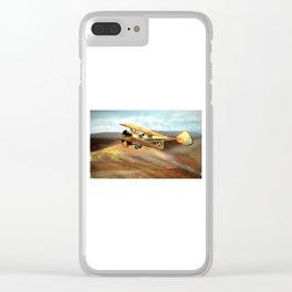 Flight Clear iPhone Case