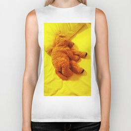 Love is... Teddy dog Biker Tank