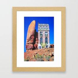 Red Rock Retreat Framed Art Print