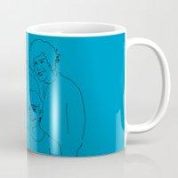1d Mugs featuring 1D by Rebecca Bear