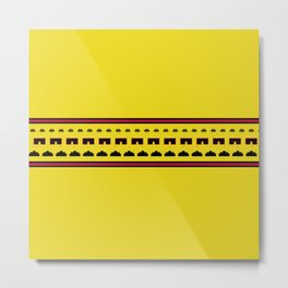 Space Invaders Metal Print