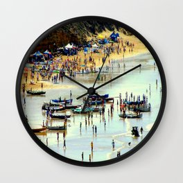 Rowing Regatta Wall Clock