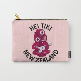 Pink Hei Tiki with Ukulele Carry-All Pouch