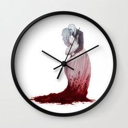 Love suicide Wall Clock