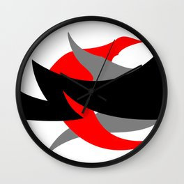 Something Abstract #1-2 Wall Clock