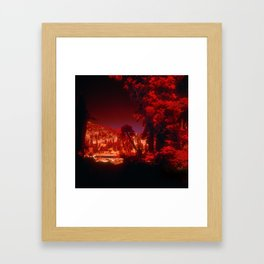 """Fantasy Secret Hideaway"" Framed Art Print"