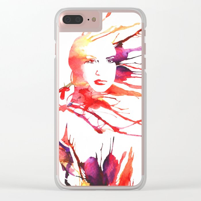Colors of the Wind Clear iPhone Case