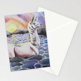 Llama Ness Monster Stationery Cards