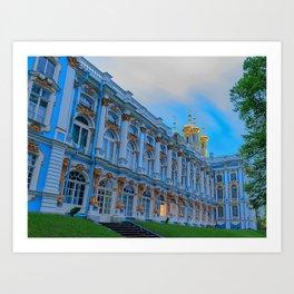 Catharine Palace Saint Petersburg Art Print