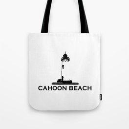 Cahoon Beach. Cape Cod Tote Bag