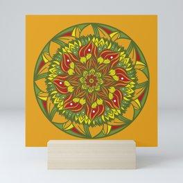 Summer mandala 4 Mini Art Print