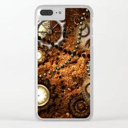 Steampunk i Clear iPhone Case
