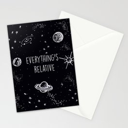 Everything's  Relative Stationery Cards