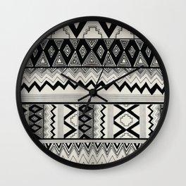 Aztec Pattern No. 8 Wall Clock