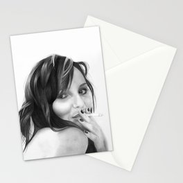 petra the goddess of laughter Stationery Cards