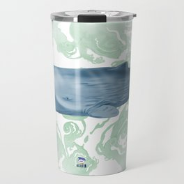 Champion breath holder of the ocean Travel Mug