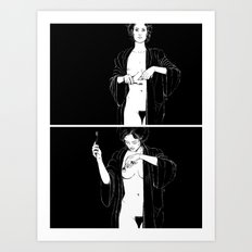 Mirror, pts. 1 & 2 Art Print