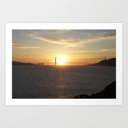 Golden Gate Bridge #1 Art Print