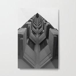 Desde el suelo. Metal Print